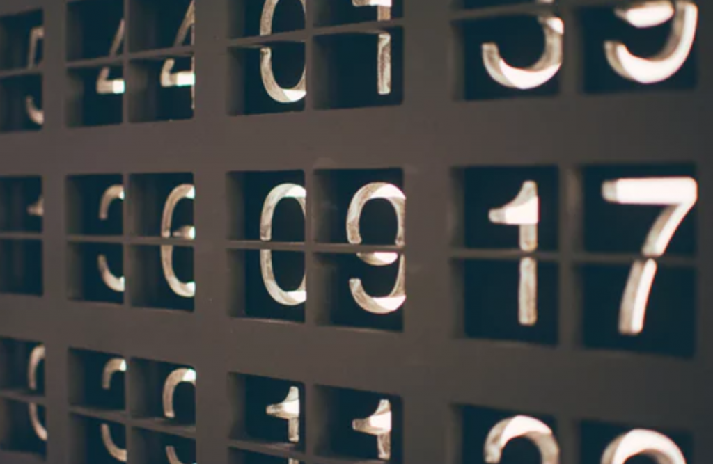 assorted numbers