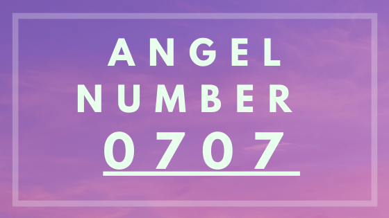 Angel number 0707