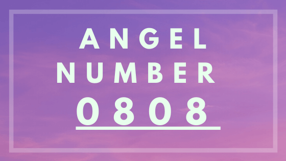 Angel number 0808